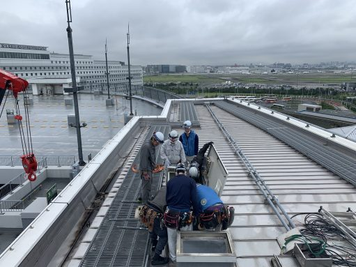 東京国際空港飛行場灯台工事